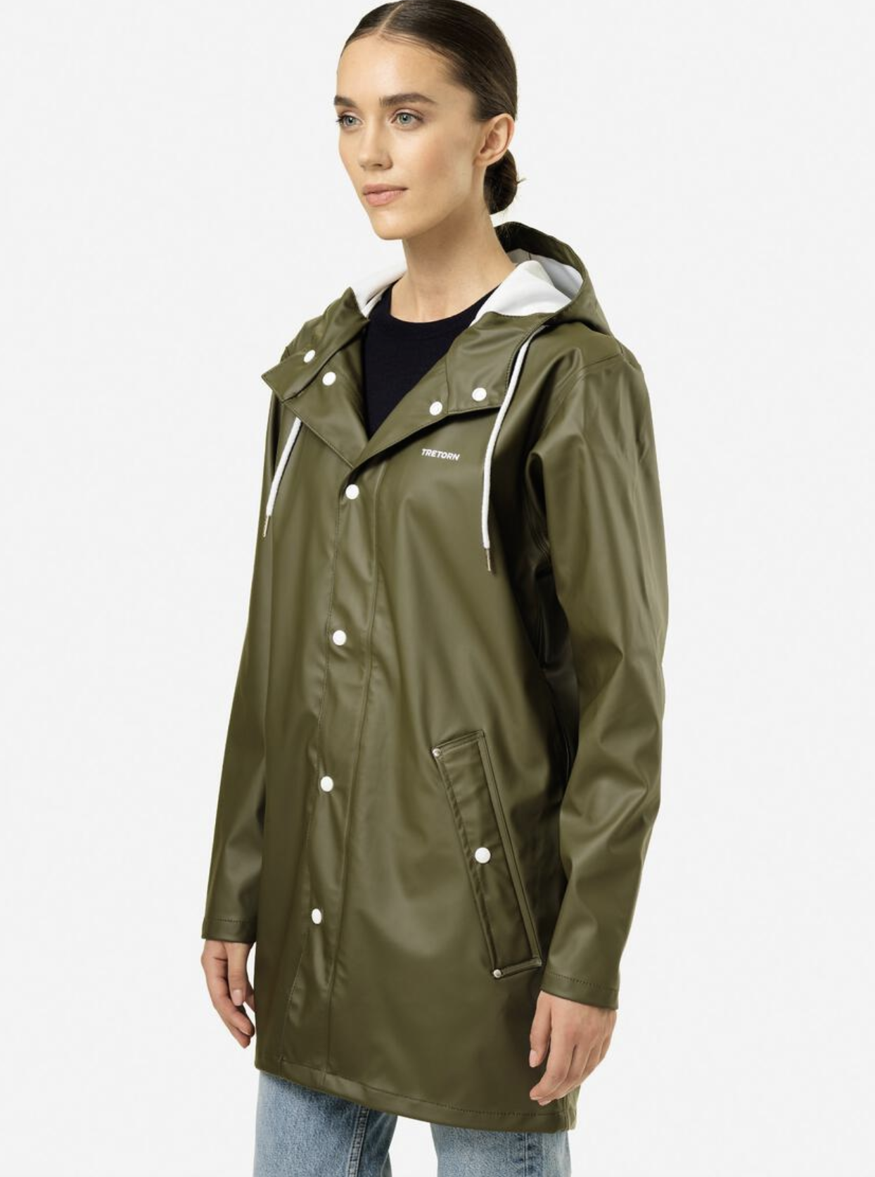 Wings Rain Jacket Forest Green-2