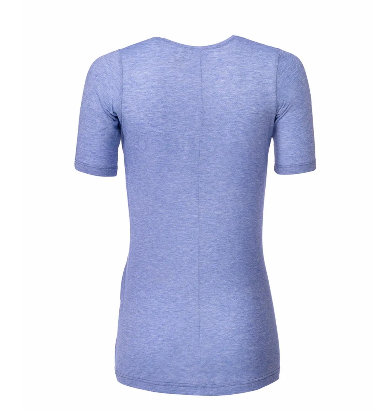 Women's Elevate T-Shirt Periwinkle-2