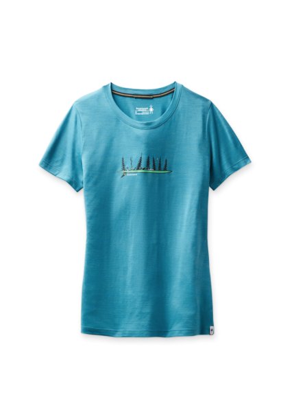 Women's Camping With Friends Tee