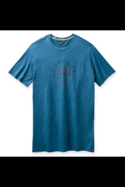 Men's Sunrise Mountain Tee Neptune Blue
