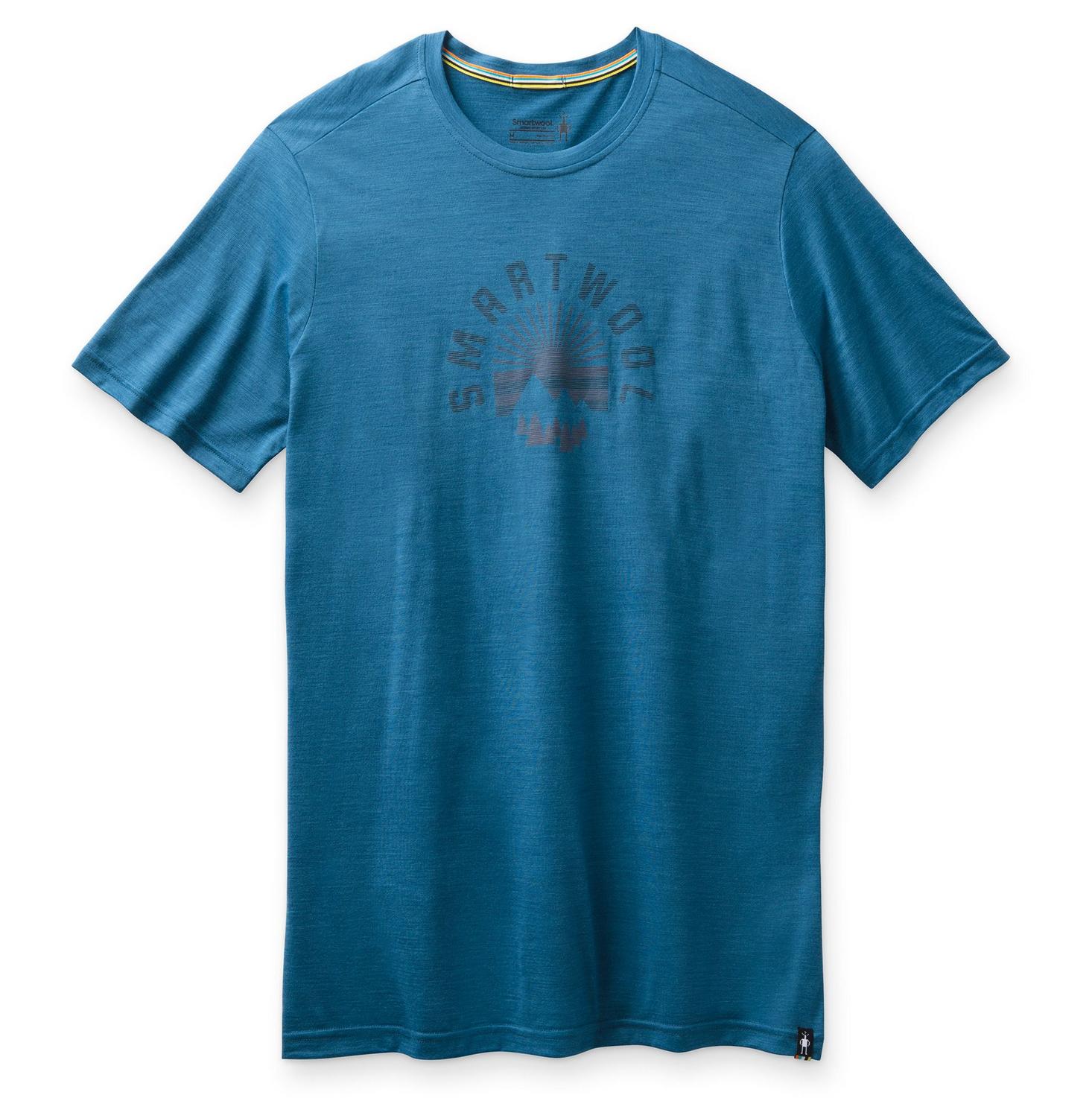 Men's Sunrise Mountain Tee Neptune Blue-1