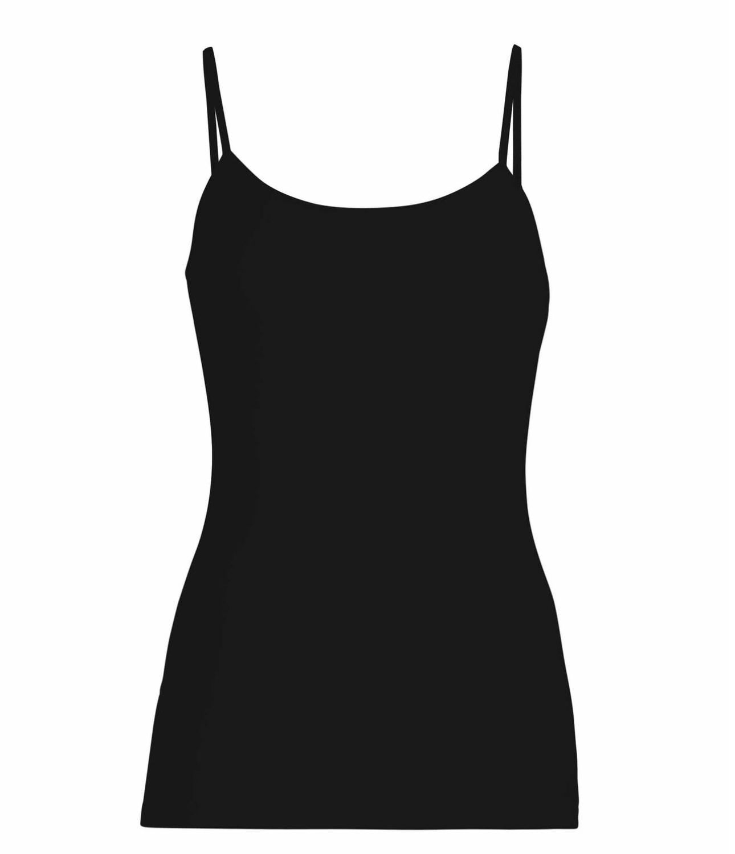 Women's Merino Bodyfit  Cami Black-1