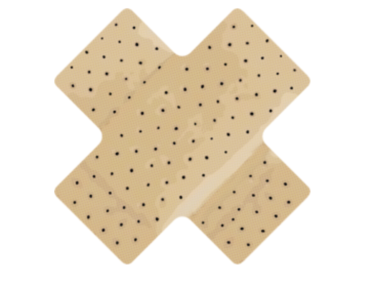 Bandage Repair Patch Small-1