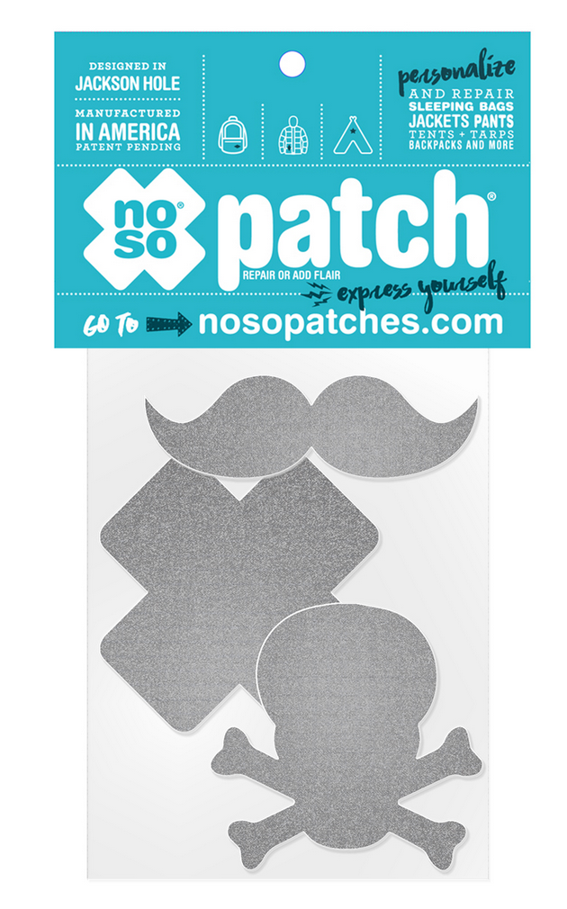 Stache Repair Patch Pack Reflective-1