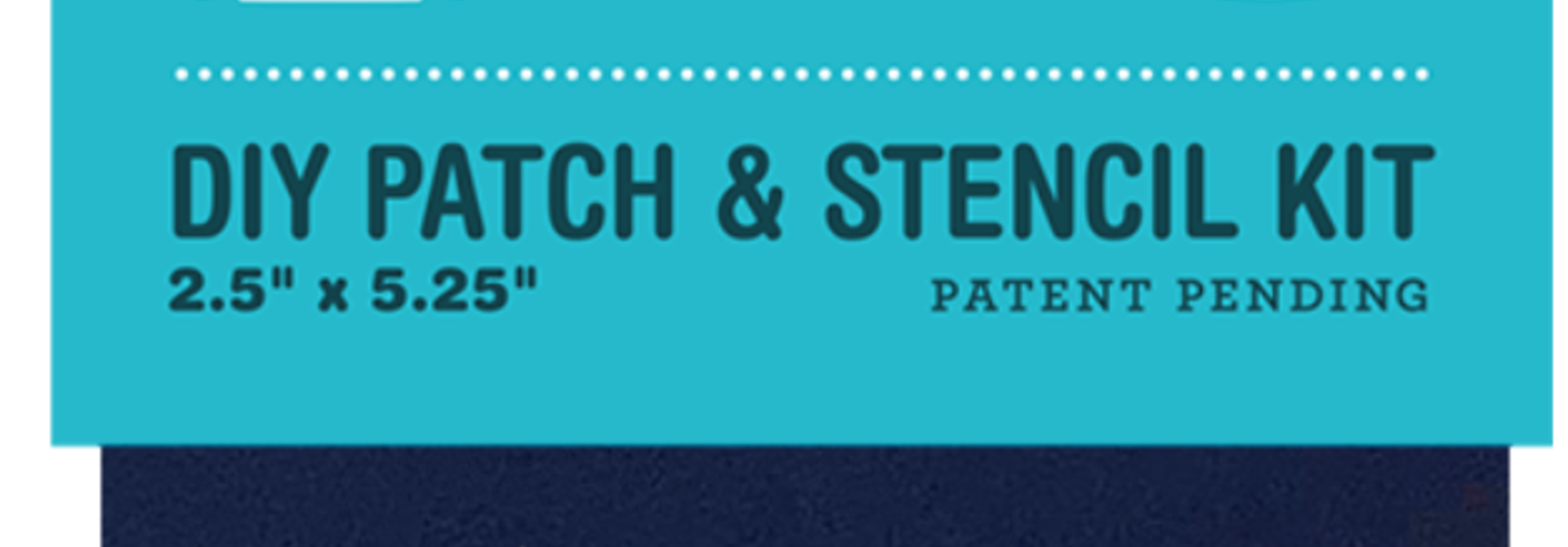 Patchdazzle DIY Repair Patch Navy