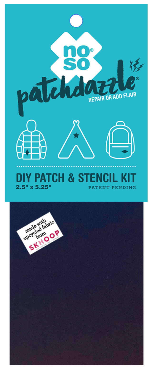 Patchdazzle DIY Repair Patch Navy-1
