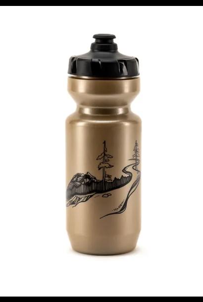 22oz Gold Water Bottle