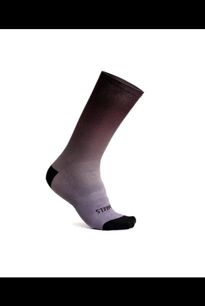 """Fading Light Sock 7.5"""" Shark"""