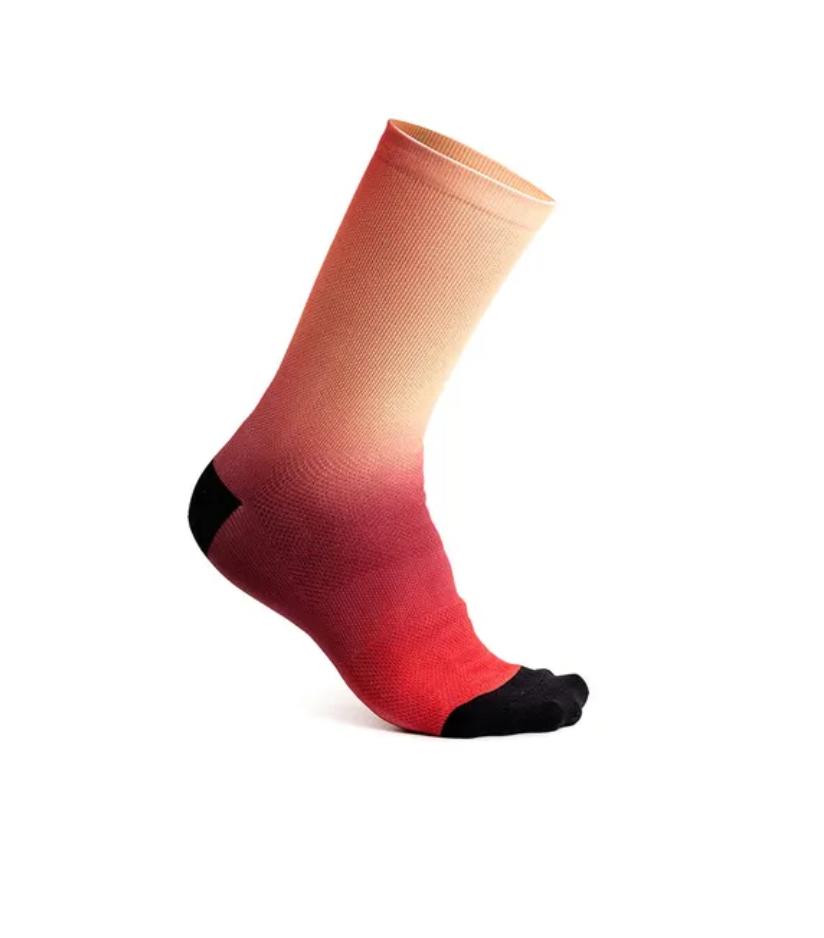 "Fading Light Sock 7.5"" Electric Watermelon-1"