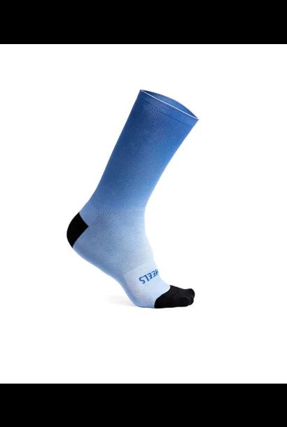 "Fading Light Sock 7.5"" Super Blue"