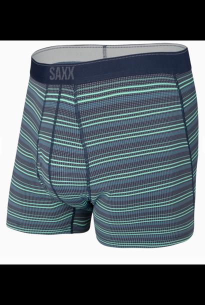 Quest Boxer Brief Green Sunruse Stripe