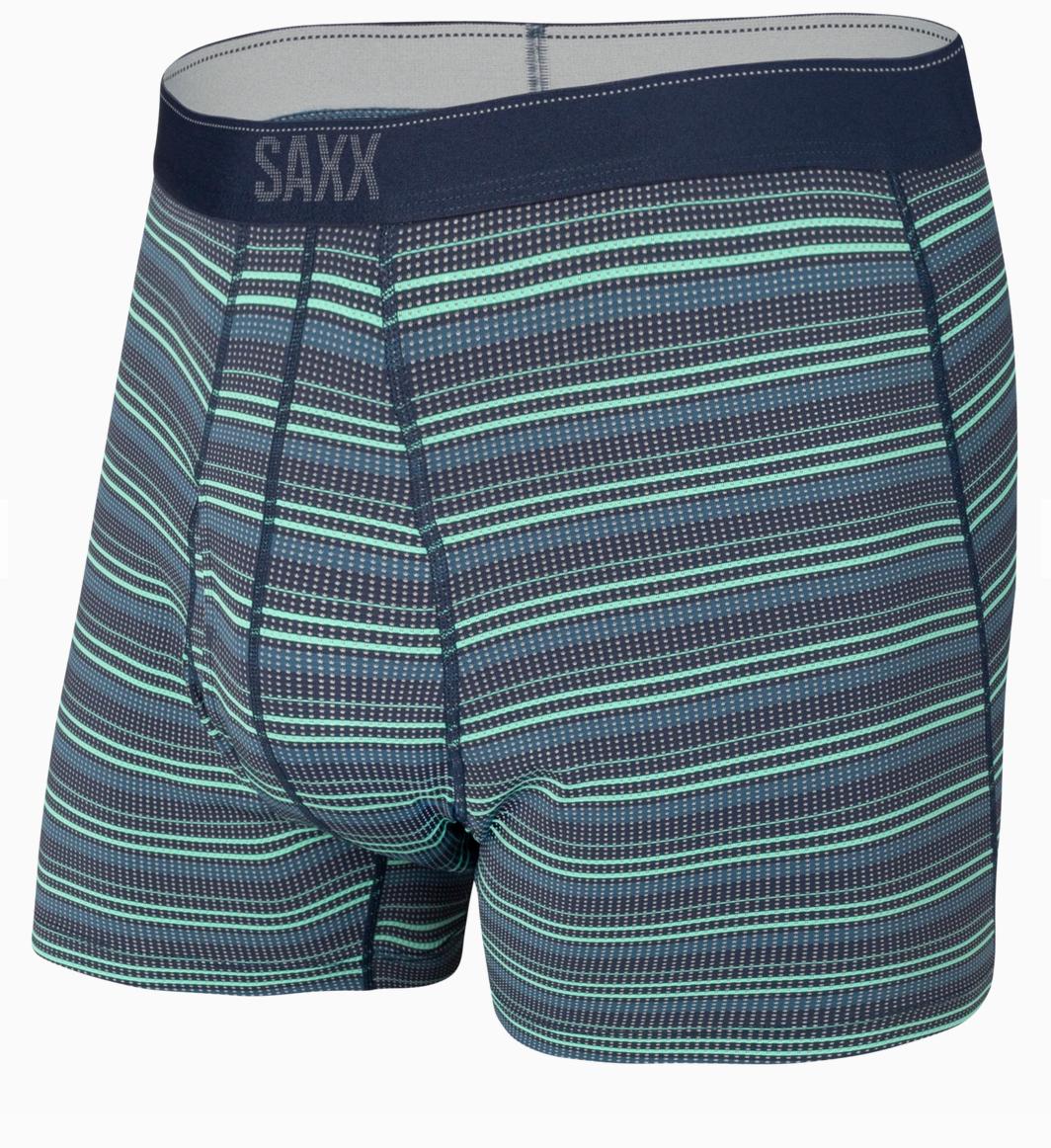 Quest Boxer Brief Green Sunruse Stripe-1