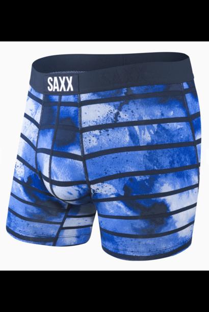 Vibe Boxer Brief Navy Tie Dye Stripe