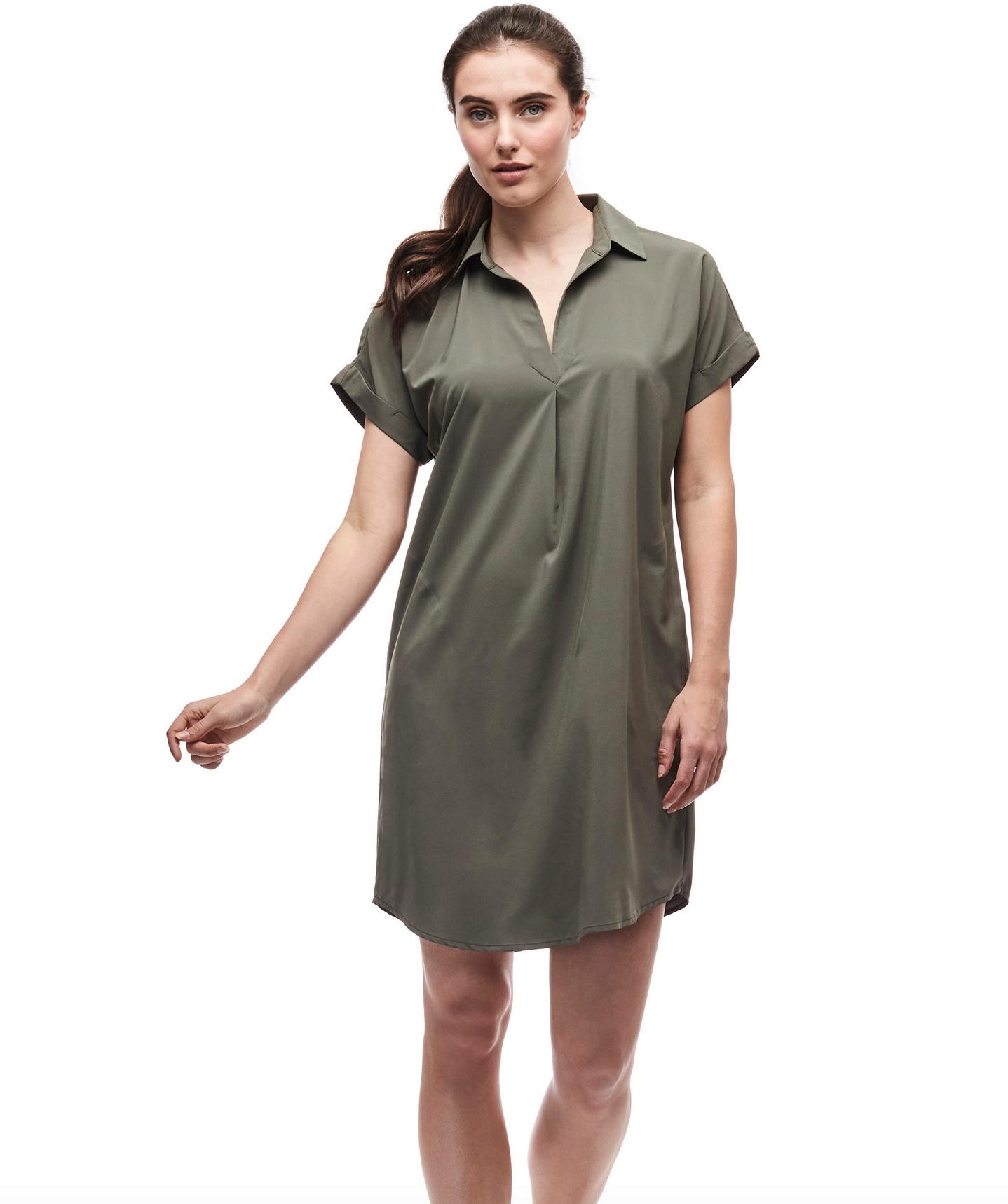 Women's Frivol Dress Cactus-1