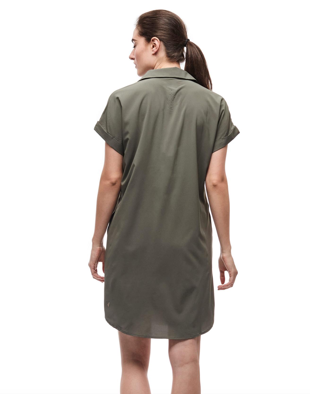 Women's Frivol Dress Cactus-2