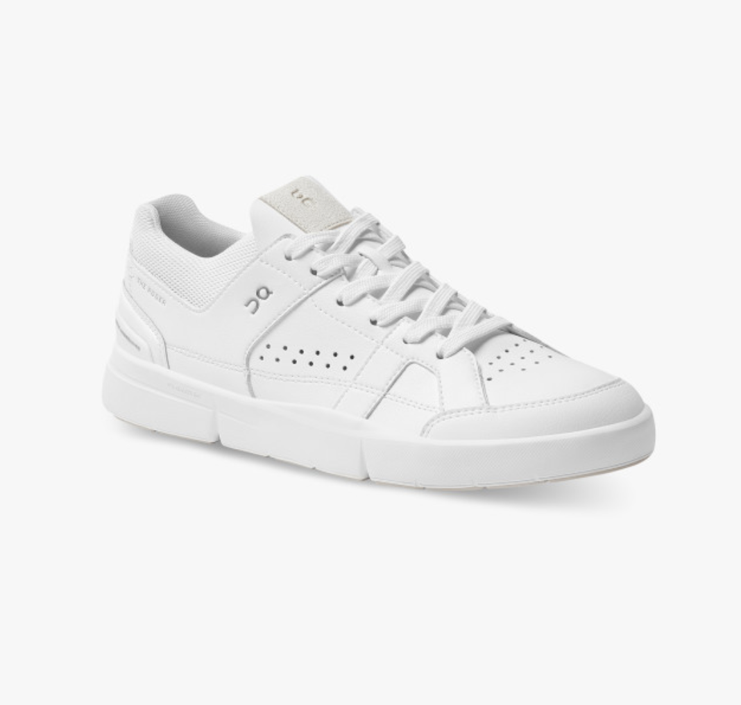 Women's The Roger Clubhouse All White-3