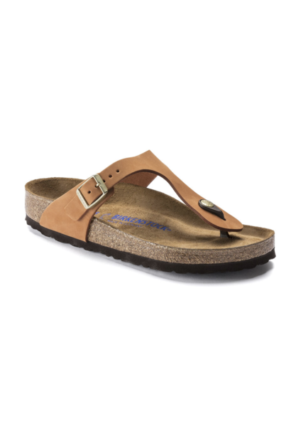 Gizeh BS Soft Footbed Pecan