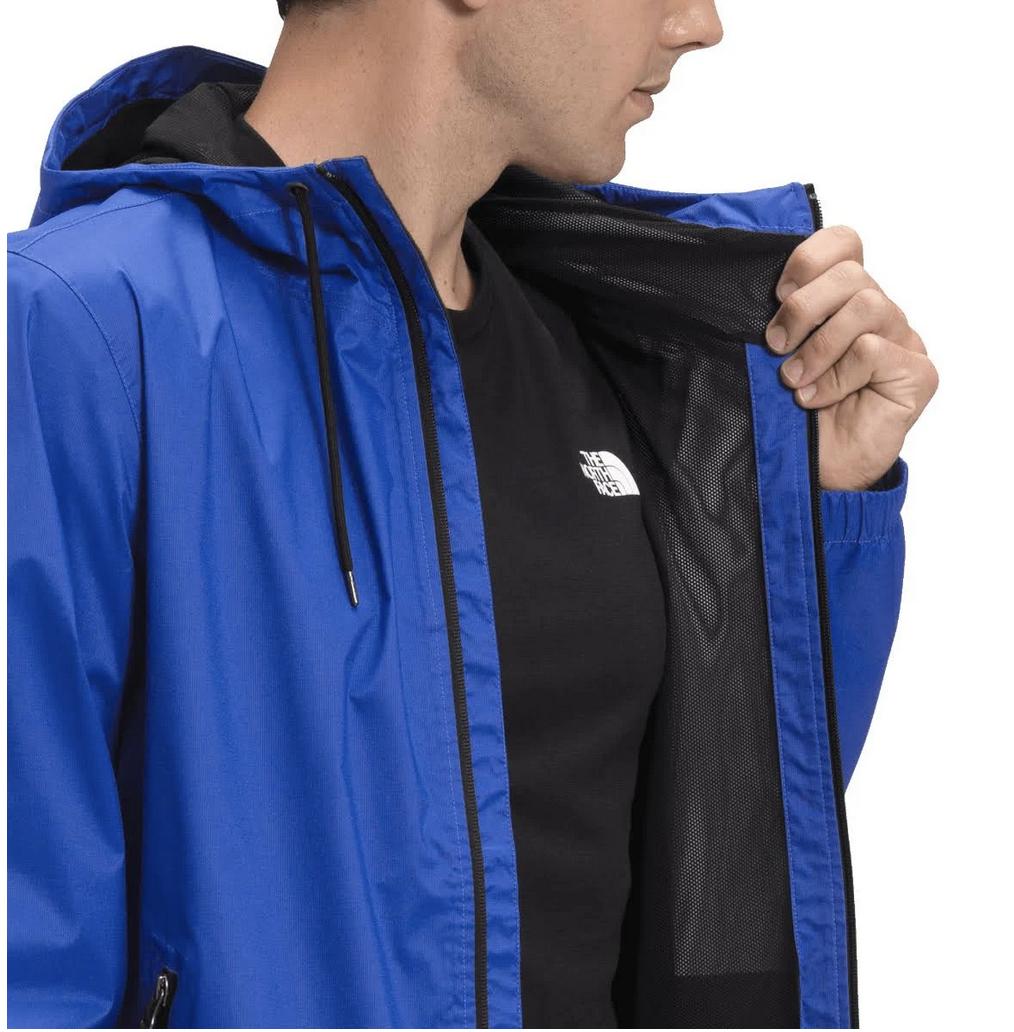 Men's Novelty Rain Shell Blue-3