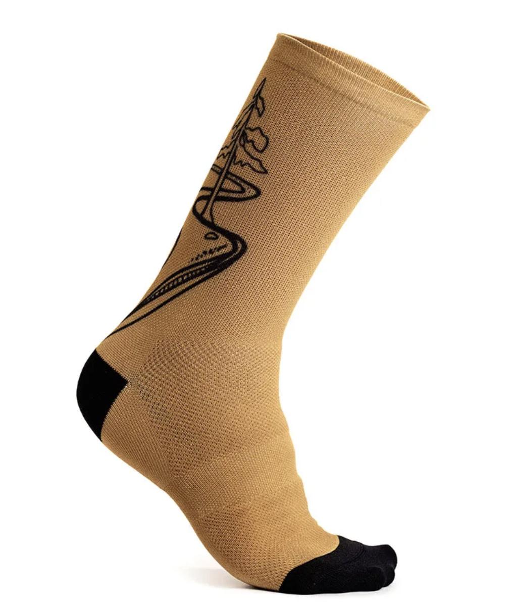 "Fading Light Sock 7.5""-6"