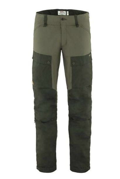 Men's Long Keb Trousers Forest Green
