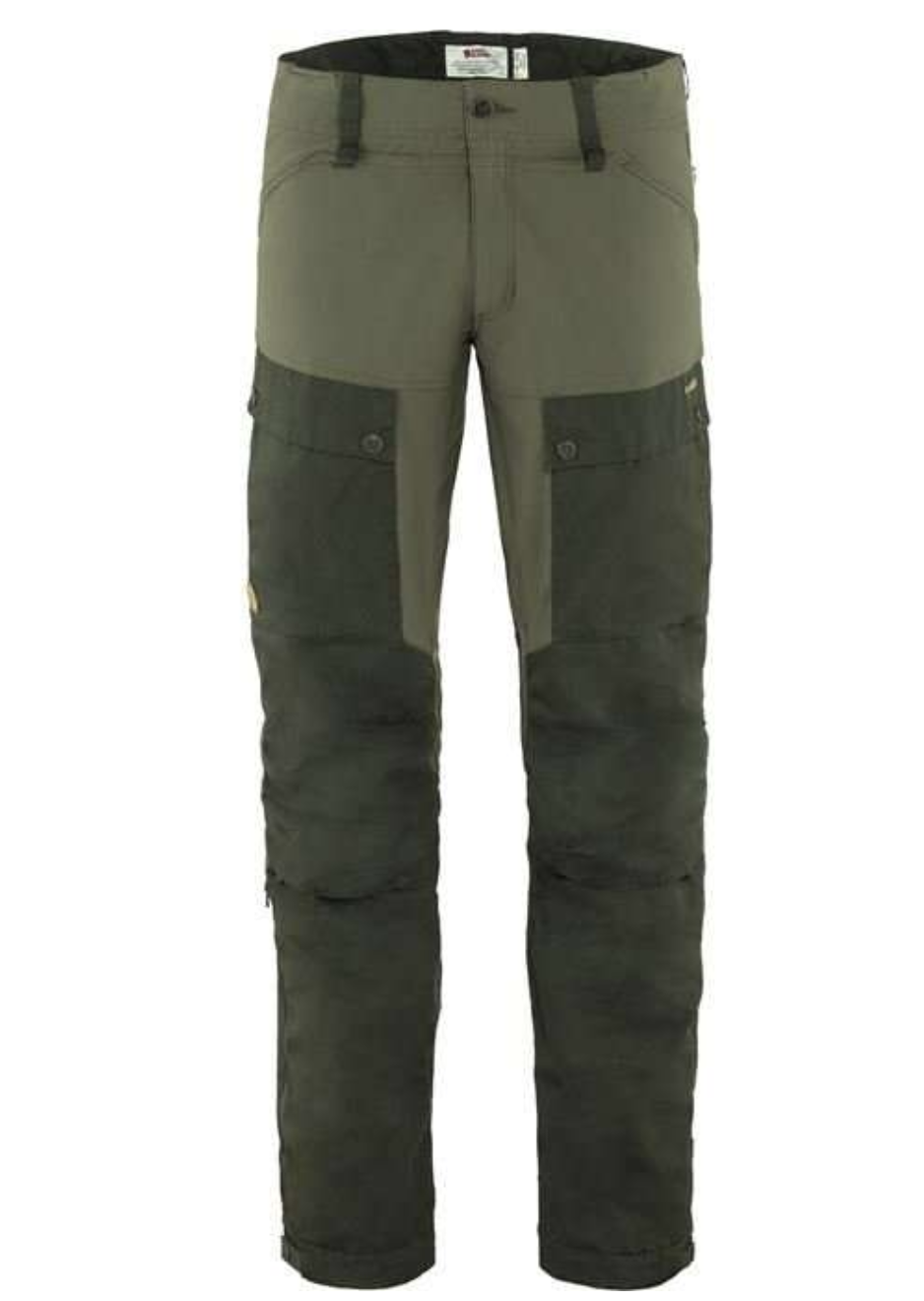 Men's Long Keb Trousers Forest Green-1