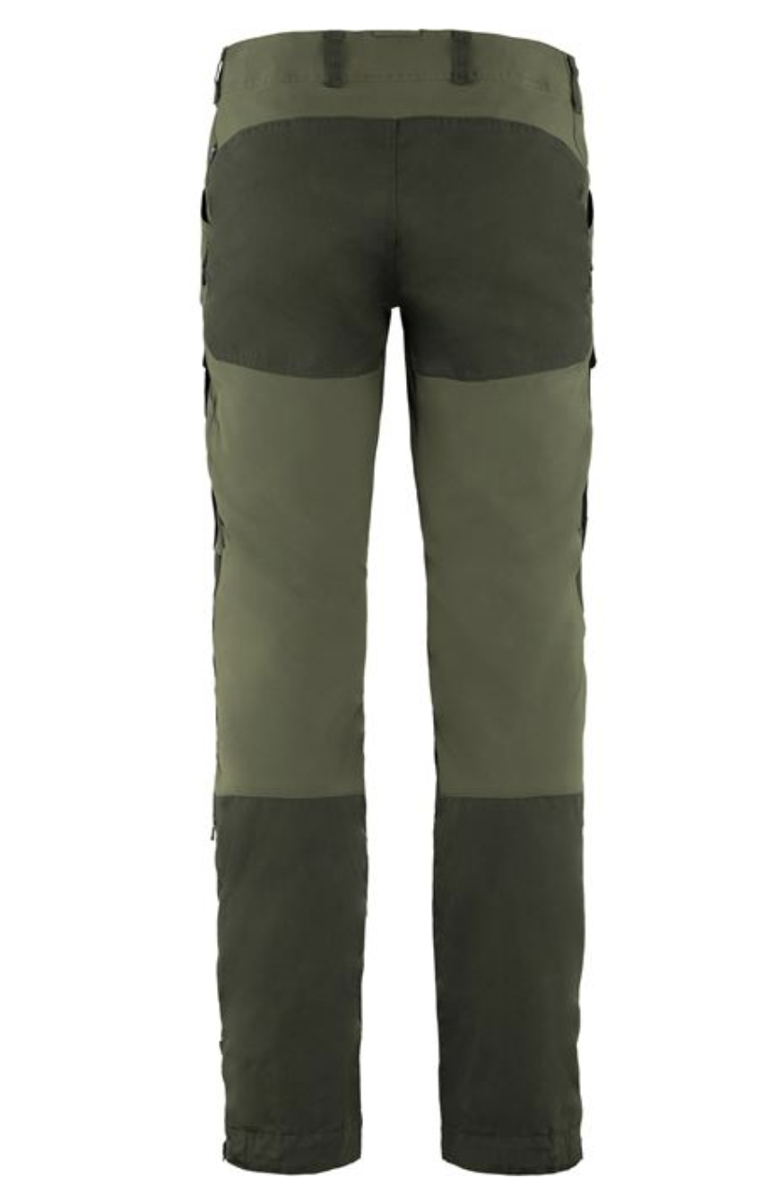 Men's Long Keb Trousers Forest Green-2
