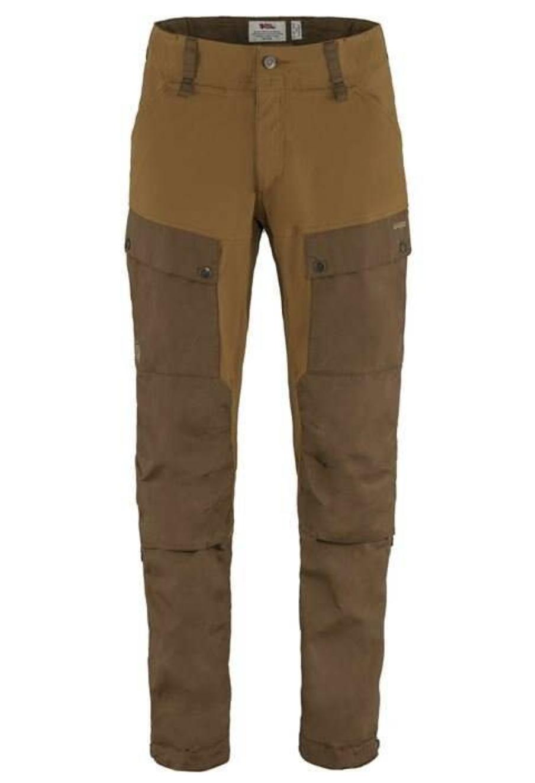 Men's Long Keb Trousers Timber Brown-1