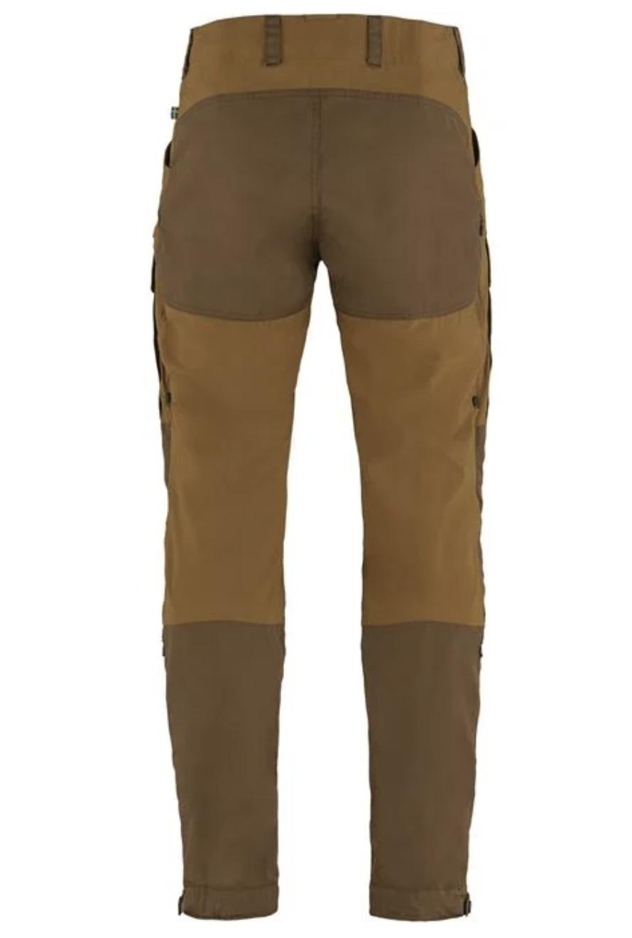 Men's Long Keb Trousers Timber Brown-2