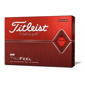 Titleist Balles TruFeel - Red