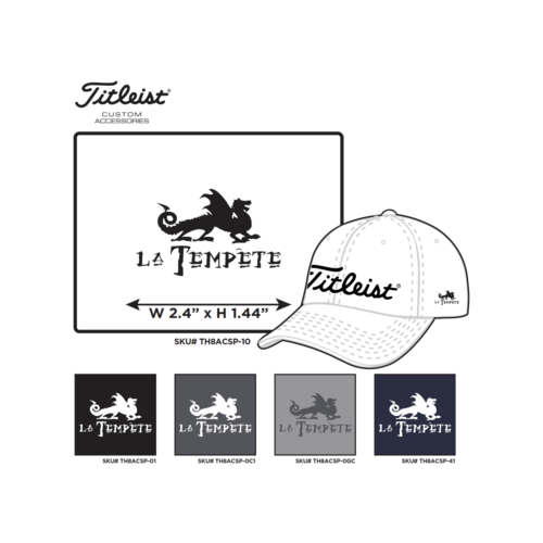 Titleist Casquette Titleist logo Tempête