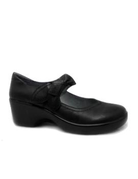 Alegria Ella Black Leather