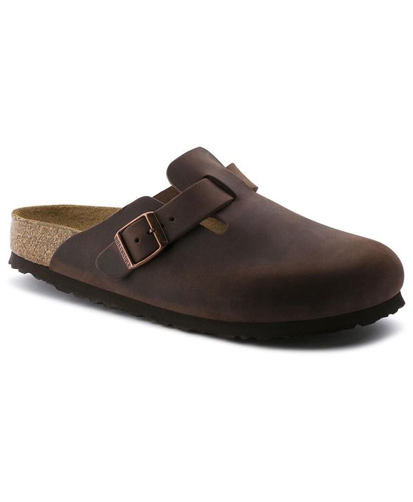 W BOSTON SOFT FOOTBED OILED LEATHER