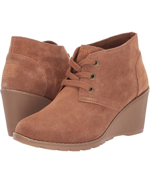 W TUMBLE WEED GHOST TOWN WEDGE BOOTIE