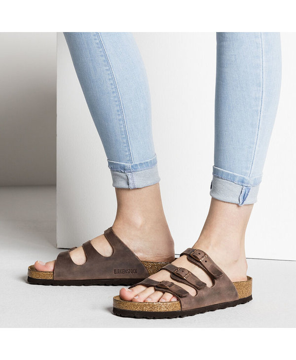 W FLORIDA SOFT FOOTBED OILED LEATHER
