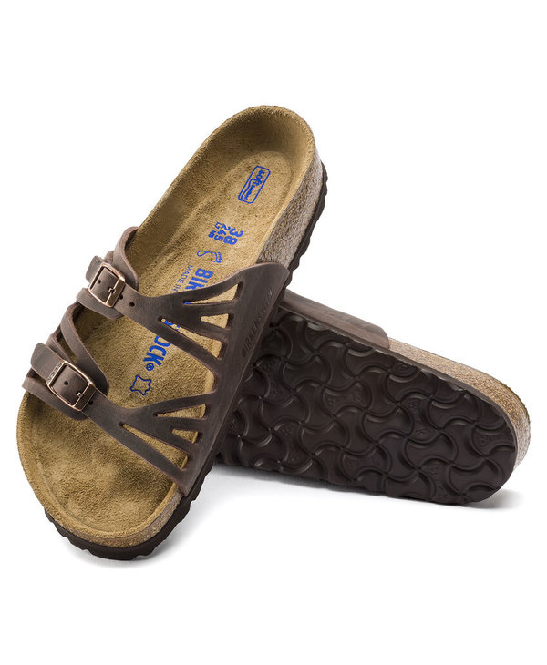 W GRANADA SOFT FOOTBED OILED LEATHER