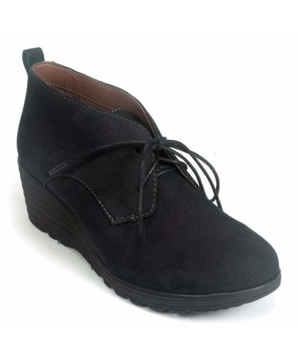 W CADEE WEDGE LACE UP BOOTIE