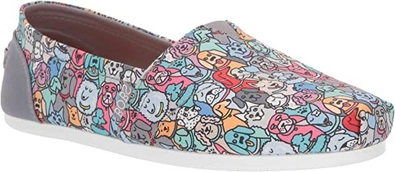 W BOBS PLUSH WOOF PARTY SLIP ON