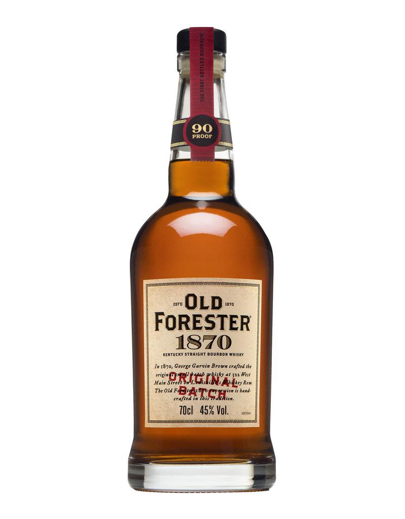 Whisky Old Forester 1870 Original Batch