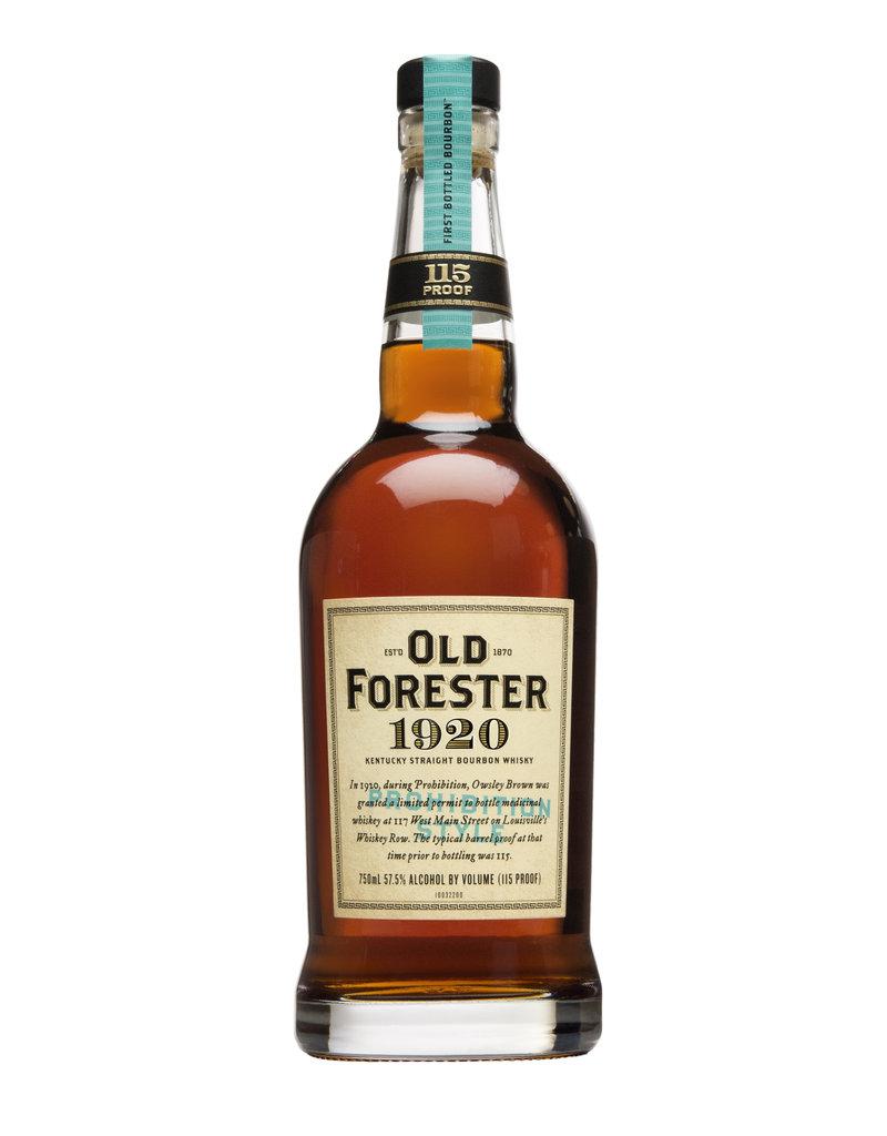 IN-STORE PICK UP ONLY - OLD FORESTER 1920, PROHIBITION STYLE, 750 ml