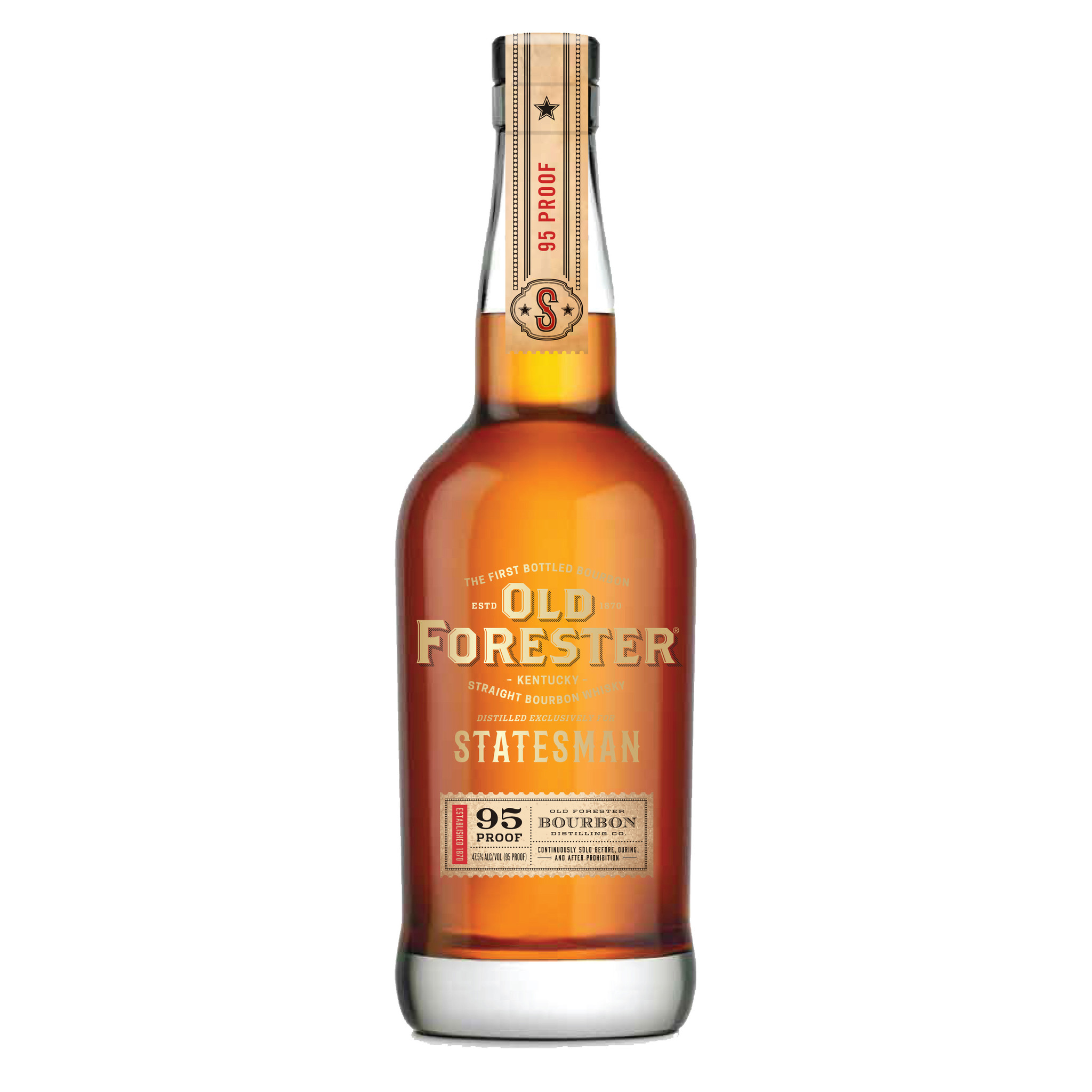 OLD FORESTER STATESMAN, 750 ml