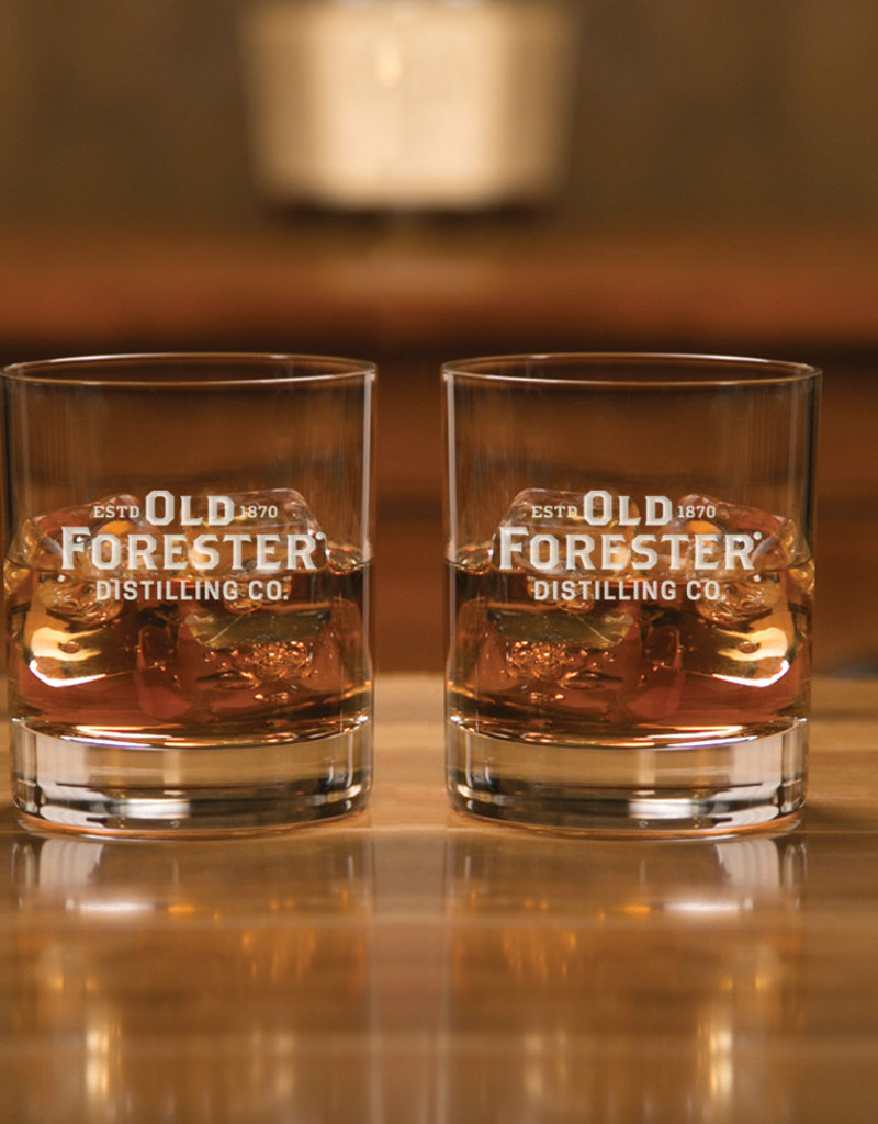 OLD FORESTER CLASSIC ROCKS GLASS (SET OF 2)