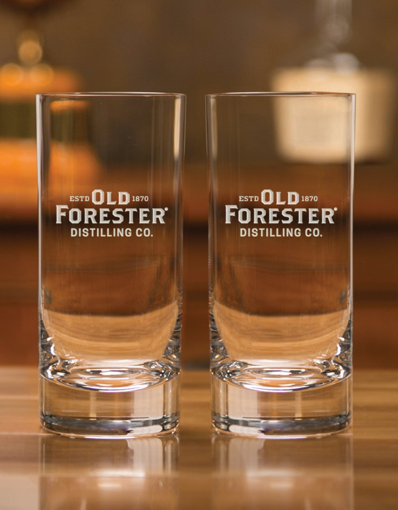 OLD FORESTER HI BALL GLASS (SET OF 2)