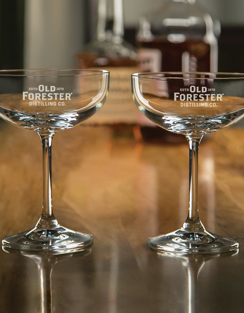 OLD FORESTER COUPE GLASS (SET OF 2)