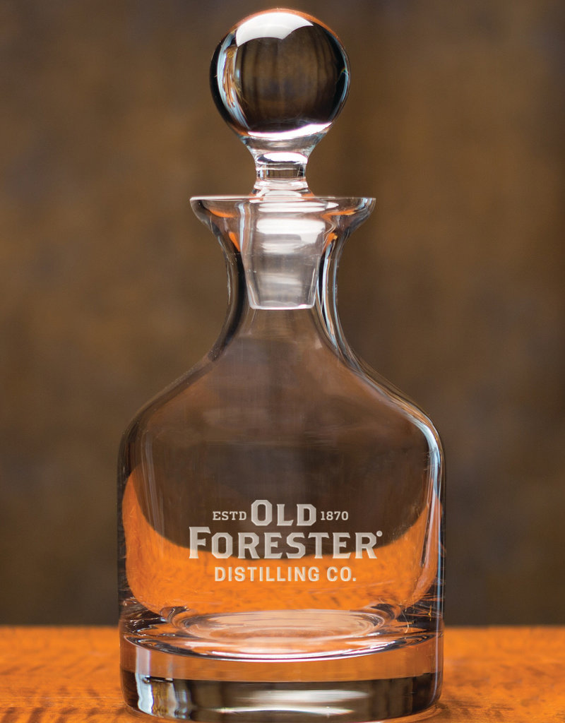 DECANTER CLASSIC LOGO OLD FORESTER