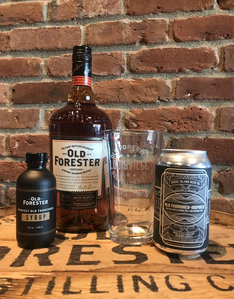 Sold Out GOOSE ISLAND X OLD FORESTER OLD FASHIONED SET
