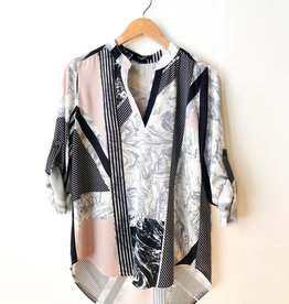 Papillon Multi Print Blouse