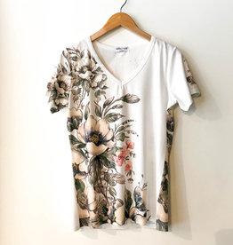 CYC Garden Floral Side Print T-Shirt