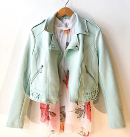 Molly Bracken Mint Jacket