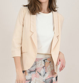 Molly Bracken Nude Blazer