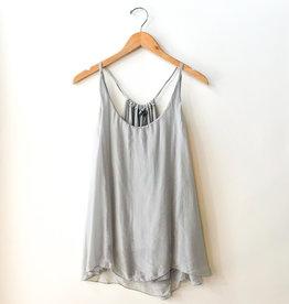 M Made in Italy Silk Sleeveless Cami